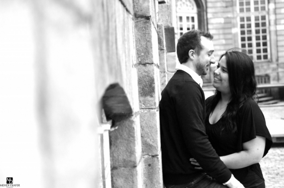 Photographe engagement cambrai 2